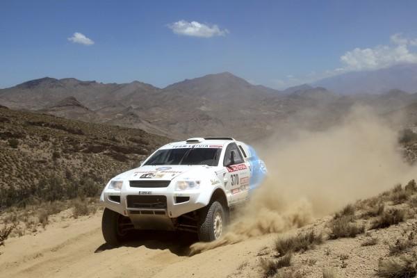 OSCar eO un Dakar 2012