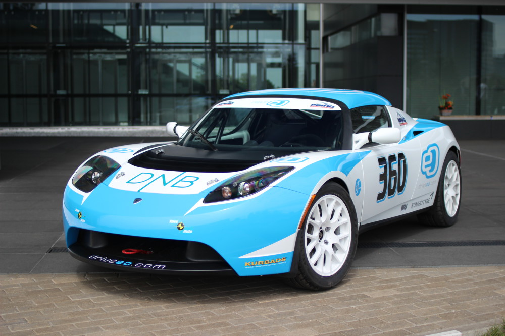 Tesla Roadster 360 by Drive eO for Pikes Peak 2014