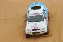 Electric OSCar eO in Silk Way Rally 2012