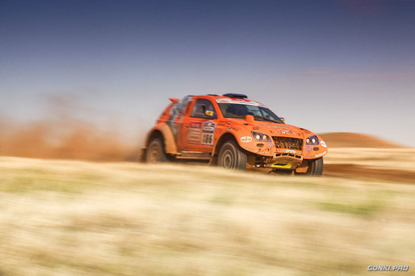 OSCar O1 (Toms Brants / Mārtiņš Tuters) in Silk Way Rally 2012