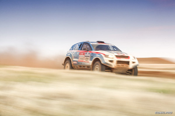 OSCar O3 (Anton Grigorov / Sergey Mishin) in Silk Way rally 2012