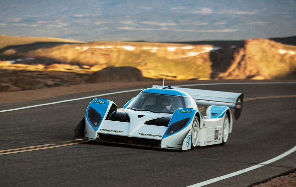eO PP01 by Drive eO at Pikes Peak Hill Climb 2013
